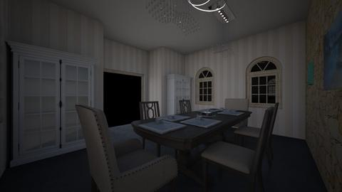 Dining Room p3 - by Isa_Snowy_Owl
