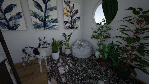 jungle bedroom corner - Modern - Bedroom - by juliaia