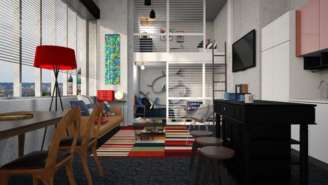 students loft - by SZdesing