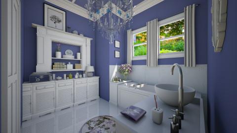 Seasoned Designers Bath - Bathroom - by sissybee
