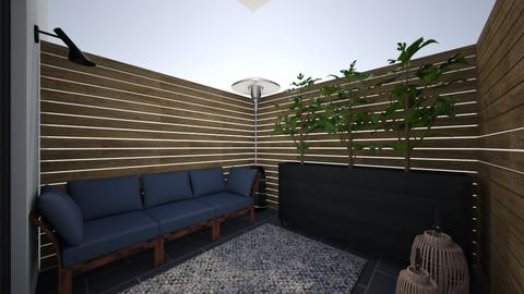 therapist office patio - by t harv