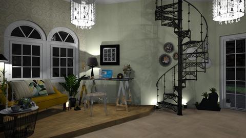 My Work Corner - Office - by zenaalomran