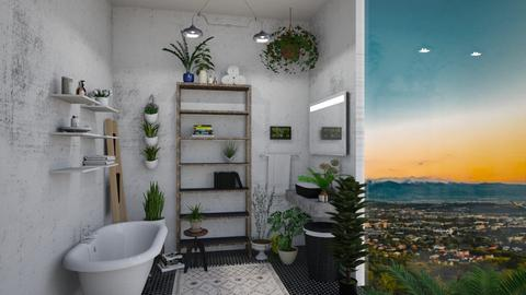 urban jungle bathroom - Bathroom - by td123