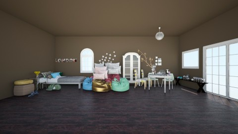 Biebers Penthouse  - Bedroom - by ThatNightcoreGirl