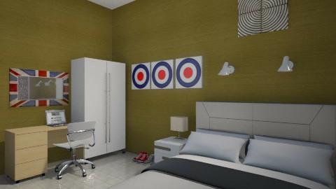 gold e pop 5 - Minimal - Bedroom - by herjantofarhan
