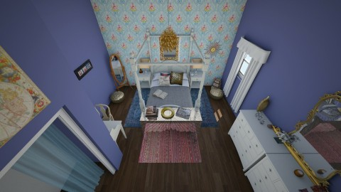 Vintage Room - Vintage - Bedroom - by hwoodward1