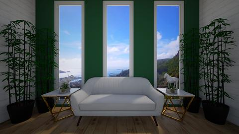 green room - Living room - by green42