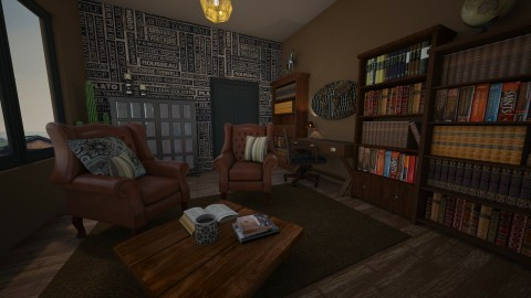 Cozy room - by carro_polack