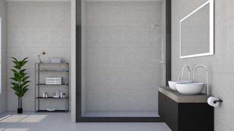 Modern Bathroom - Bathroom - by ab1300