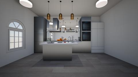 modern commercial kitchen - Modern - Kitchen - by jade1111