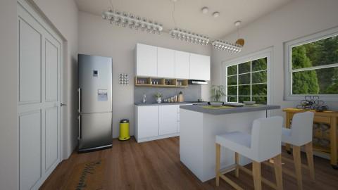 Inspired by IKEA - Kitchen - by moosierawwr