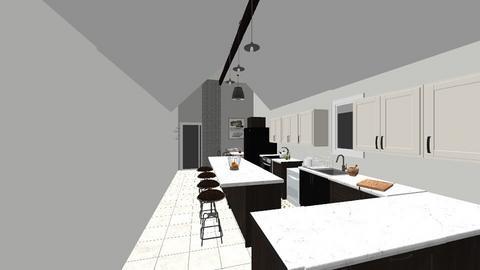 Nakia Kitchen - Kitchen - by fwmadebycarli