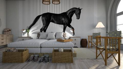 My_Horse - Living room - by ZuzanaDesign