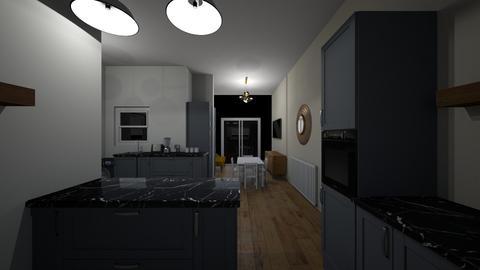 Kitchen 3 - Retro - Kitchen - by Richardhalsey