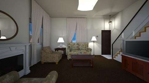Town home LR  - Living room - by WestVirginiaRebel