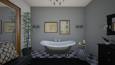bathroom - Glamour - Bathroom - by kledisa hasa