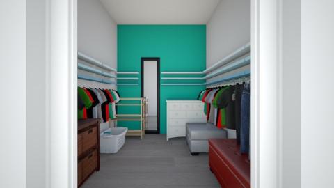 my closet setup - by ayatobero