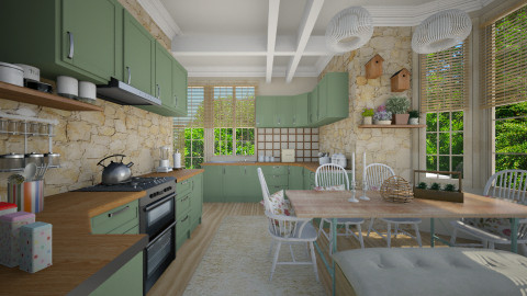 kitchensen - Kitchen - by Senia N