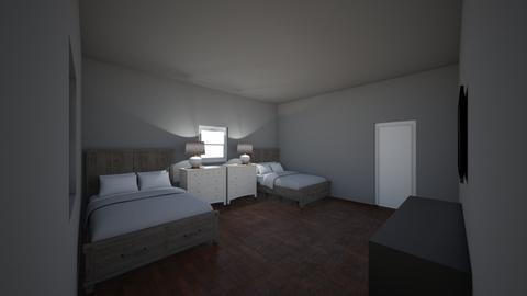 my room - Modern - Bedroom - by lilperro