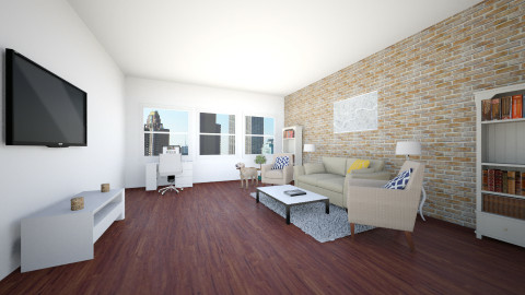 NYC apartment - Living room - by designer2001