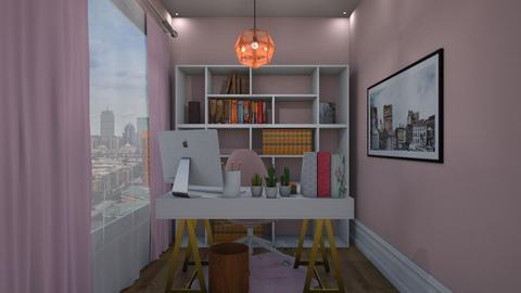 Pink Office - Office - by nonanymous_