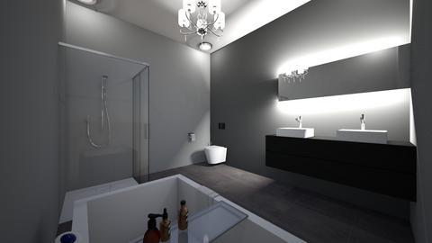 guest modern bathroom sm - Modern - Bathroom - by jade1111