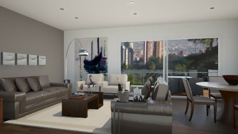 apartment - Living room - by Laura2231