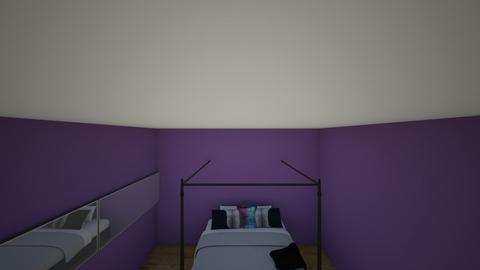 d - Bedroom - by javauria