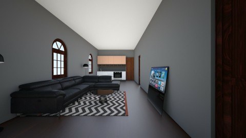 Basement Apartment Part 1 - Modern - Living room - by ilovepie