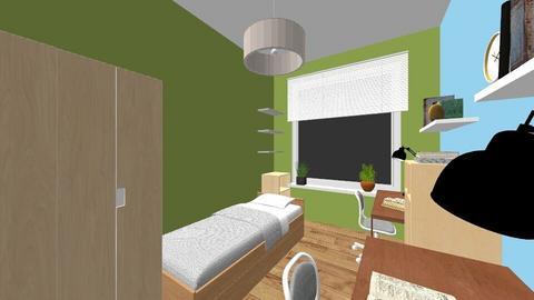 pokoj dla chlopakow - Kids room - by Aniolivon