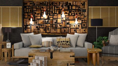 Wood - Modern - Living room - by Jessica Fox