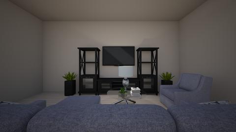 Stark  - Living room - by laurenluka