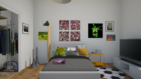 My Bedroom - Modern - Bedroom - by AR13