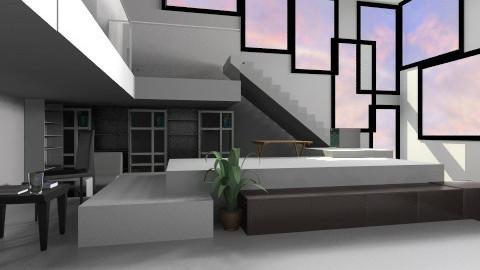 Cube Living - Modern - Living room - by Sandeep Kondana