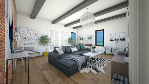 Contemporary Living Room 1 - Classic - Living room - by isabella11111