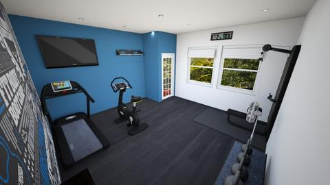 Home Gym - by josielz