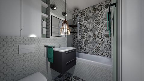 baie_Mcrudu_final - Bathroom - by IoanaC