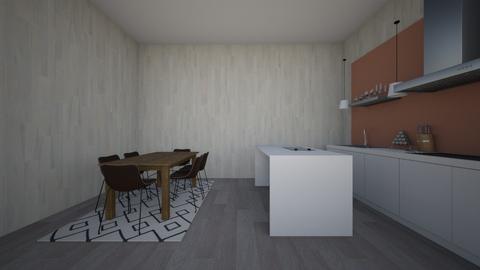 hhbh - Modern - Kitchen - by maddyunicorn