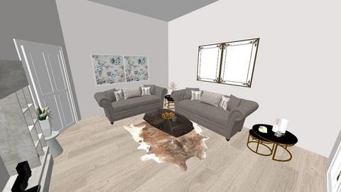 grey - Living room - by EllaNaznin
