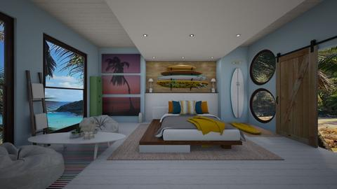 Surf Culture Bedroom - Bedroom - by Gena1310