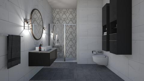 flooranddecor bathroom 3 - by rickglassinteriors