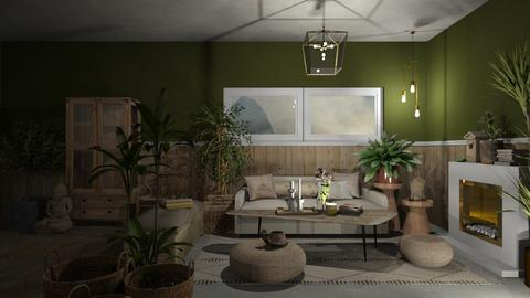 sereno - Rustic - Living room - by jjannnii