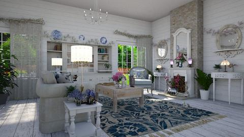 Shabby Chic LR 3 - Living room - by  krc60