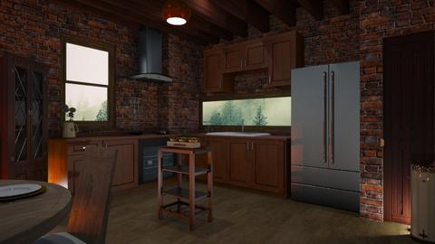 Rustic Kichen - Country - Kitchen - by Sue Bonstra