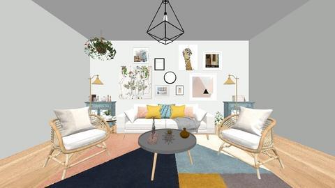 slate - Living room - by phobolover2121