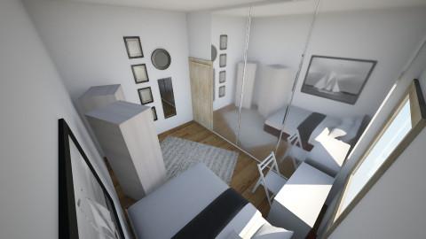 Minimal room - Classic - Bedroom - by Sarah Canham