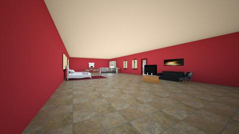 Hotel Suite  - Bedroom - by TaliaP