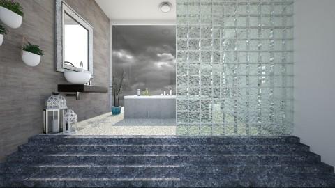 Tile - Modern - Bathroom - by Saharasaraharas