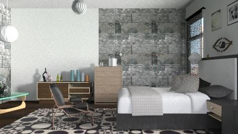 G.N. - Retro - Bedroom - by milyca8