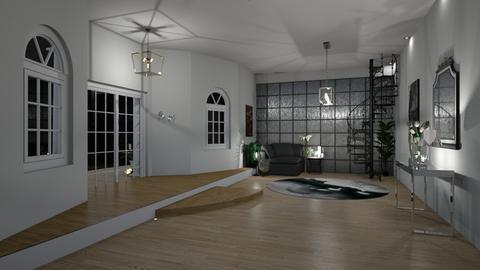 Design  - Living room - by zenaalomran